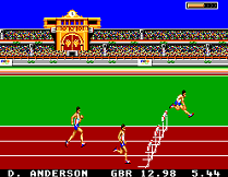 Olympic Gold on Master System