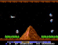 Gradius on NES