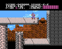 Ninja Gaiden on NES